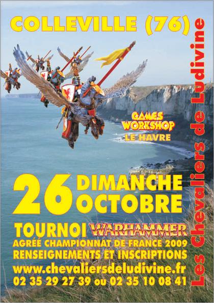 tournoi Colleville battle le 26 octobre 2008 Affiche2008